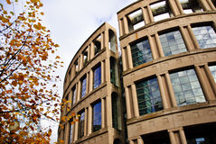 Vancouver Library. The Vancouver Library during autumn Stock Photography