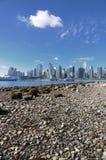 Vancouver linia horyzontu zdjęcie stock