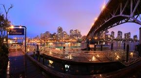 Vancouver linia horyzontu Obraz Stock