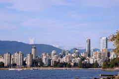 Vancouver linia horyzontu Fotografia Stock