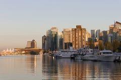 Vancouver linii horyzontu pejzaż miejski Zdjęcie Stock