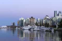 Vancouver linii horyzontu pejzaż miejski Fotografia Royalty Free