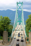 Vancouver Lions Gate Bridge Royalty Free Stock Photography