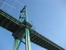 Vancouver Lionsgate Bridge Stock Photography