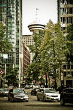 Vancouver Lookout, British Columbia Stock Photo