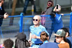 Vancouver marathon May 5th 2019 stock images