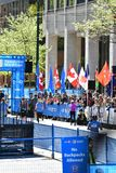 Vancouver marathon May 5th 2019 stock image