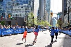 Vancouver marathon May 5th 2019 stock photo