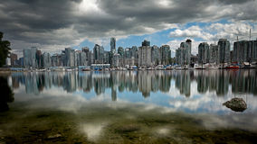 Vancouver marina. Image taken from Stanley Park,Vancouver,British Columbia Stock Images