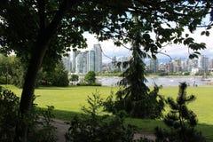Vancouver Marina Royalty Free Stock Photography