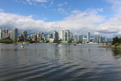 Vancouver Marina Royalty Free Stock Photos
