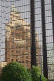 Vancouver Marine Building Reflection Stock Image