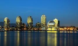 Vancouver miasta śródmieście Fotografia Royalty Free
