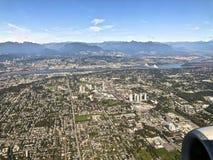 Vancouver miasta głąbik zdjęcia stock