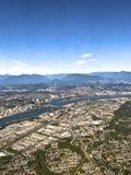 Vancouver miasta głąbik obraz royalty free