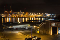 Vancouver miasta port Zdjęcie Stock