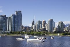 Vancouver miasto Zdjęcia Stock