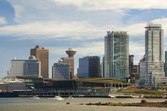 Vancouver moderna Immagine Stock Libera da Diritti