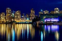 Vancouver moderna Fotografía de archivo