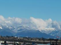 Vancouver mycket bra horisont royaltyfri foto
