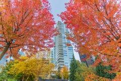 Vancouver nabrzeże Zdjęcia Stock
