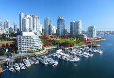 Vancouver nel Canada Immagini Stock