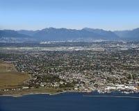 Vancouver och Richmond fotografering för bildbyråer