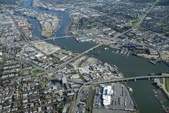 Vancouver och Richmond royaltyfria bilder