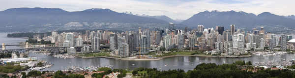 Vancouver Panorama royalty free stock photo