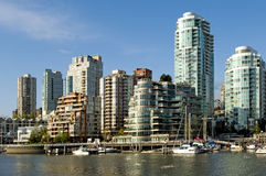 Vancouver-Panorama Stockbilder