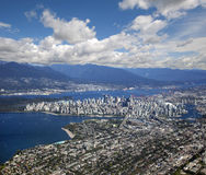 Vancouver - panoramic view Royalty Free Stock Images