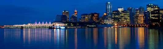 Vancouver Panoramic Stock Photography