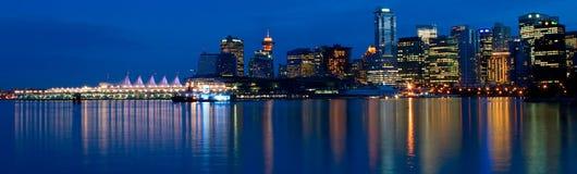 Vancouver panoramica Fotografia Stock