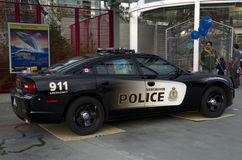 Vancouver police car Royalty Free Stock Photography