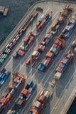 Vancouver portu antena Obraz Stock