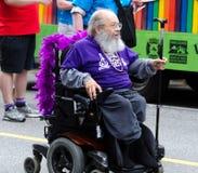 Vancouver 2016 Pride Parade en Vancouver, Canadá Fotografía de archivo