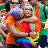 2016 Vancouver Pride Parade in Vancouver, Canada stock photography
