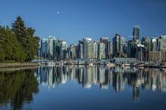 Vancouver przy Stanley parkiem Zdjęcia Stock