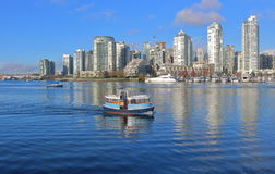 Vancouver and Public Transportation Stock Images