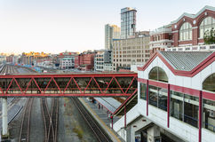 Vancouver railway station Stock Images