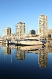 Vancouver Reflections, False Creek Stock Photography