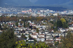 Vancouver residential area Stock Photography