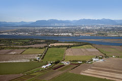 Vancouver Richmond, Westham ö royaltyfri fotografi