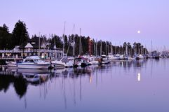 Vancouver Rowing Club in Stanley Park Royalty Free Stock Photo