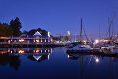 Vancouver Rowing Club in Stanley Park Stock Photo