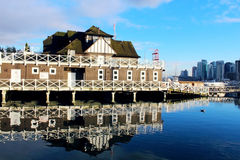 Vancouver Rowing club Royalty Free Stock Image