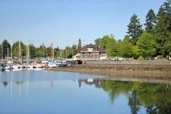 Vancouver-` s Deadman Insel Stockfotos
