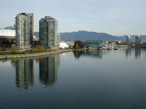 Vancouver's False Creek Stock Photos