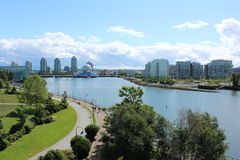 Vancouver's False Creek Royalty Free Stock Images