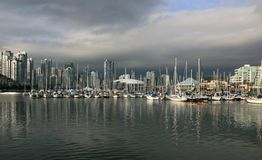 Vancouver's False Creek Royalty Free Stock Photo